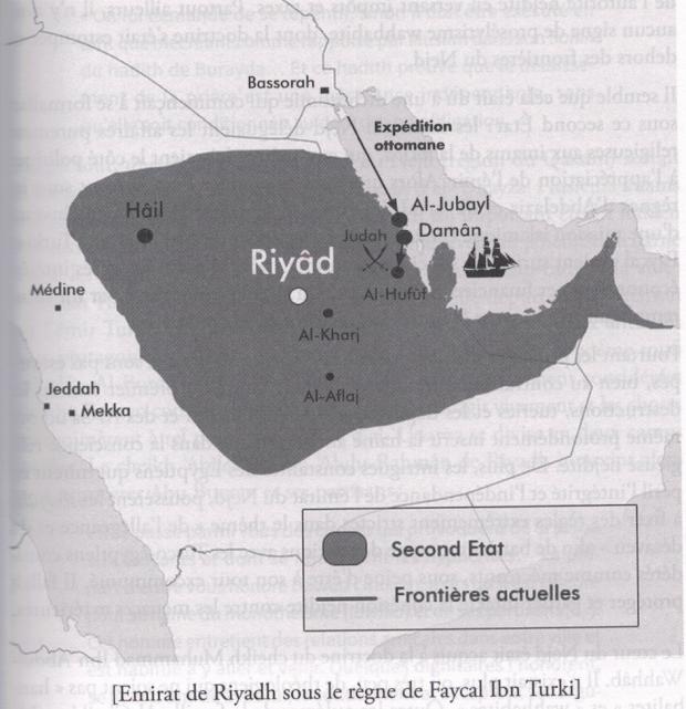 Deuxième émirat saoudien