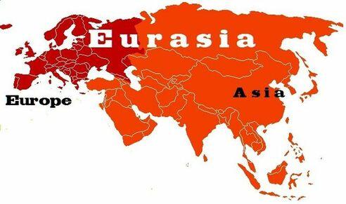 Continent Eurasie