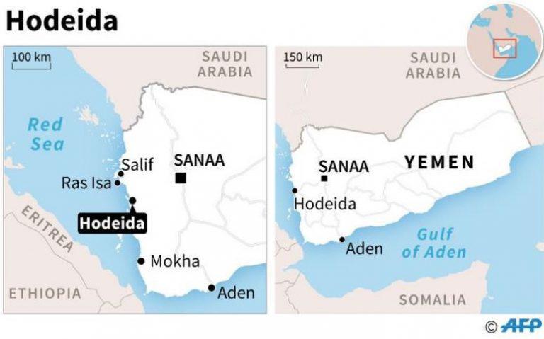 Hodeida et crise humanitaire au Yémen