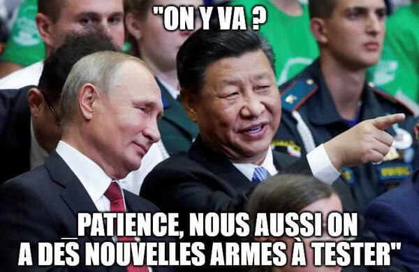 Xi et Poutine en Afrique et au Moyen-Orient