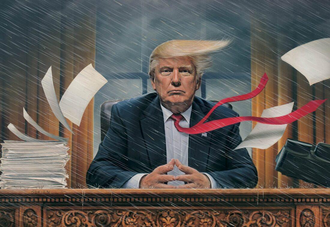 Trump et Etat profond