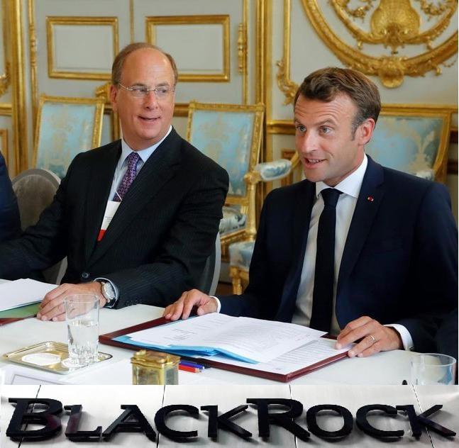 BlackRock, Macron et Elysée
