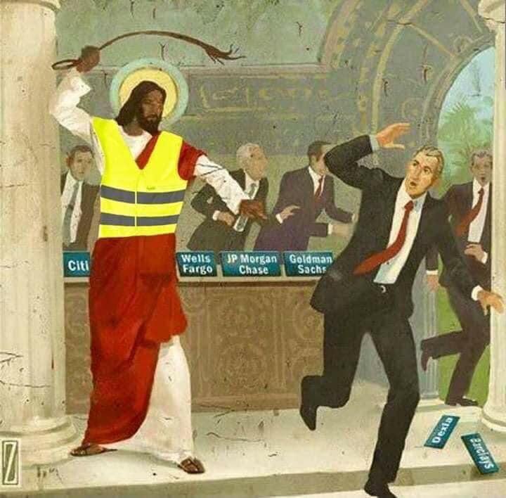 Gilets jaunes, complot et marchand du temple