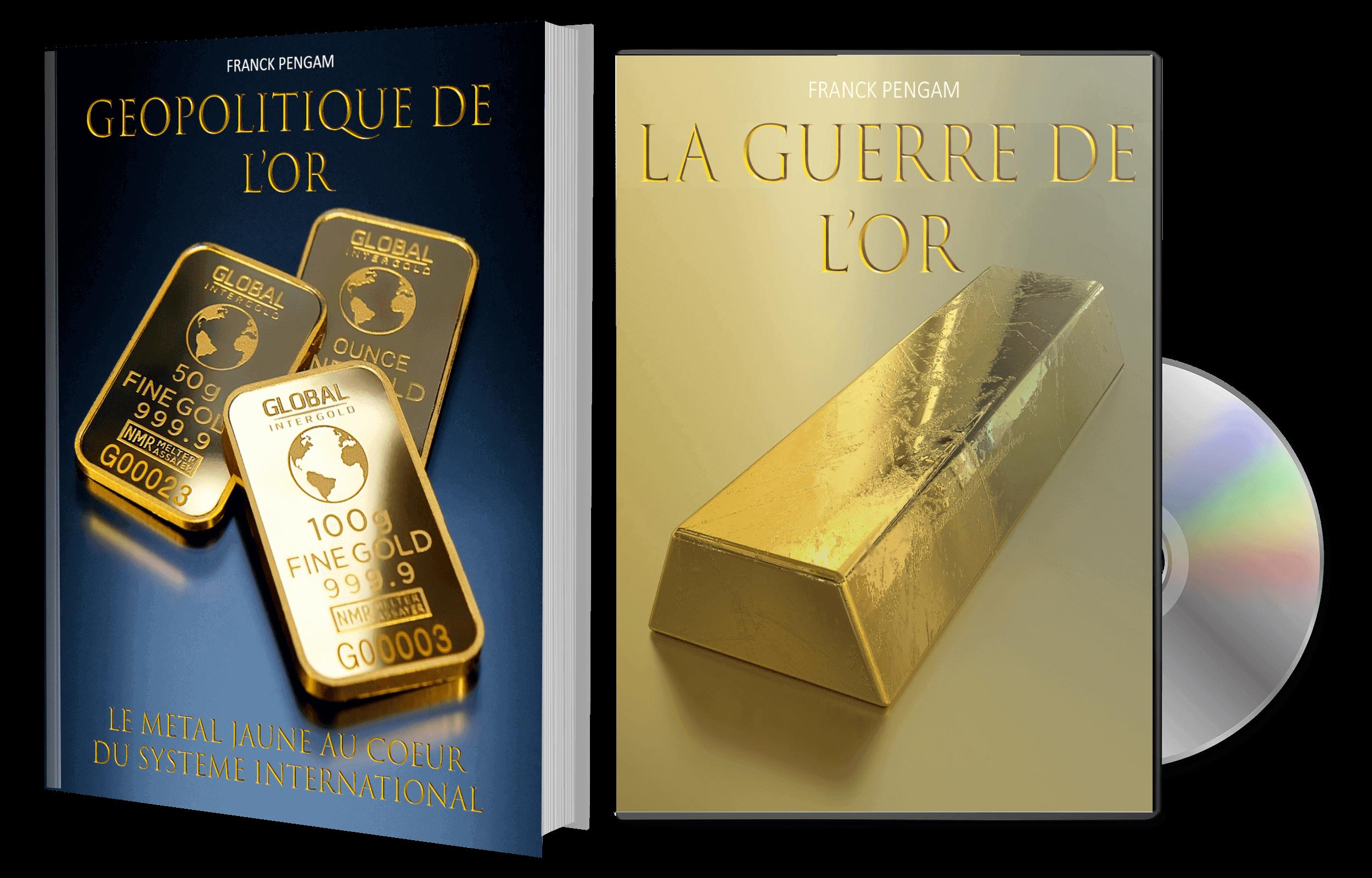Livre Géopolitique de l'Or