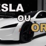 Or et Tesla