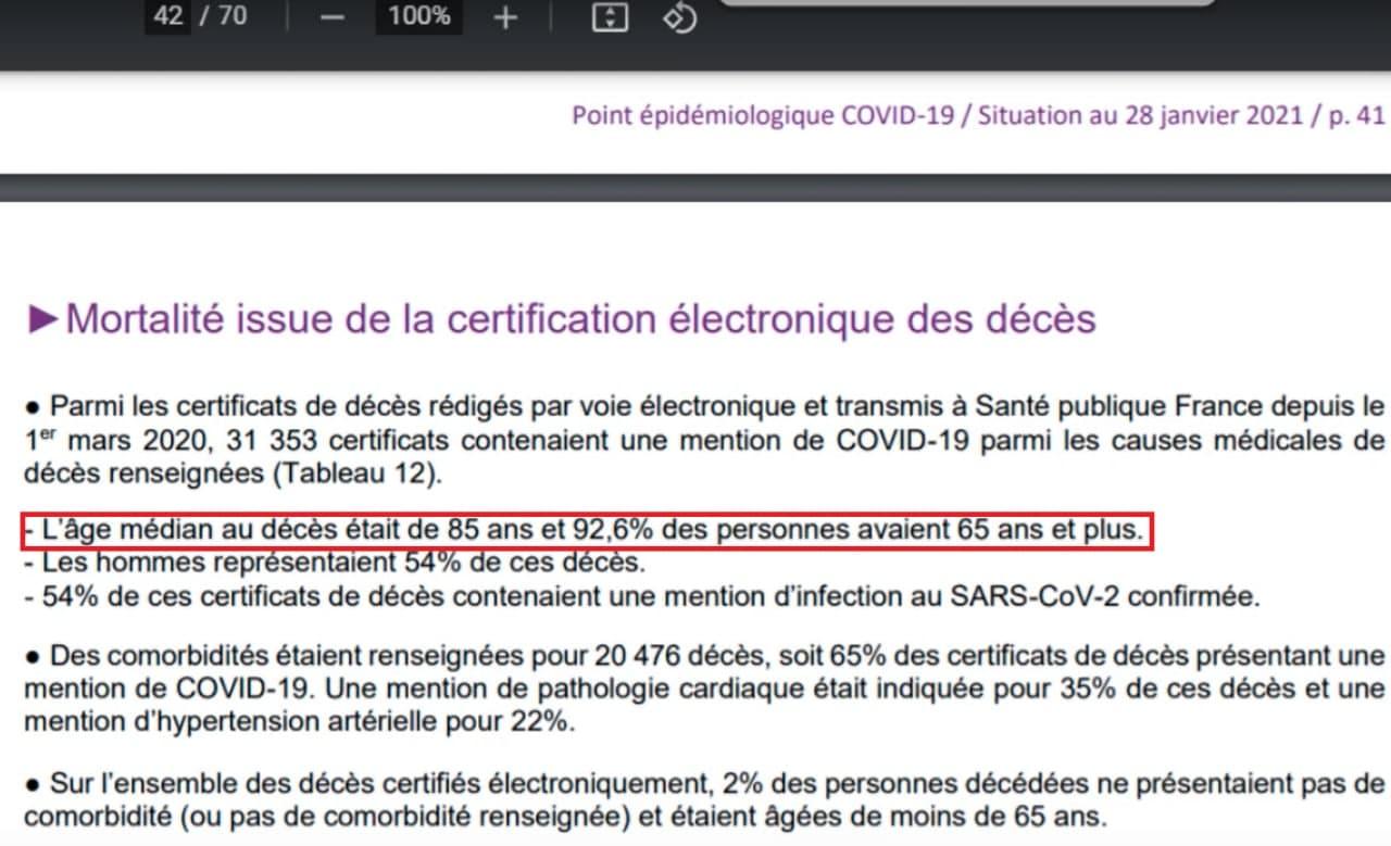 Santé Publique France et Coronavirus