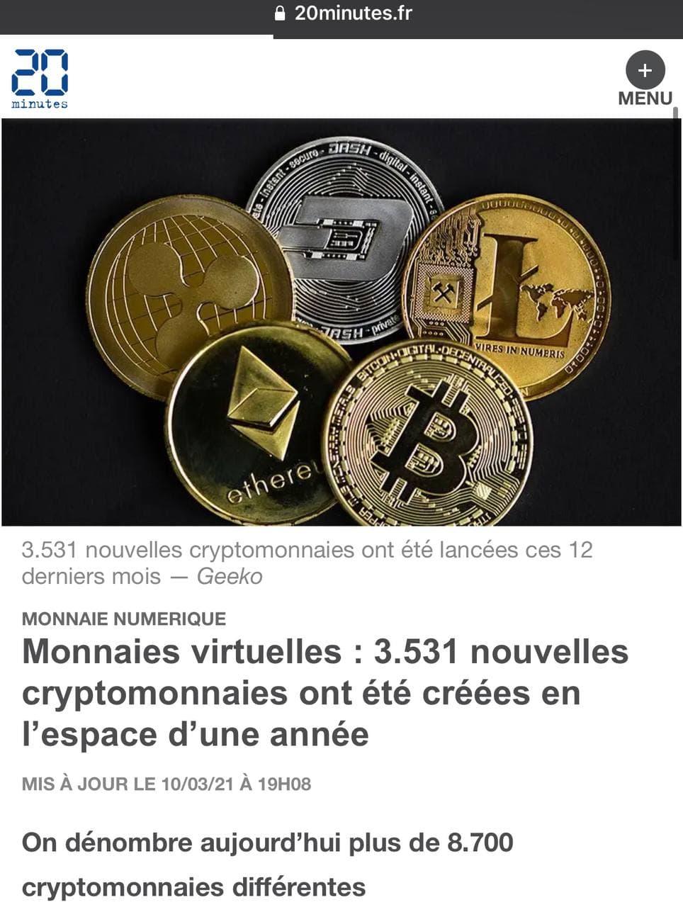 Cryptomonnaies la ruée vers l'or