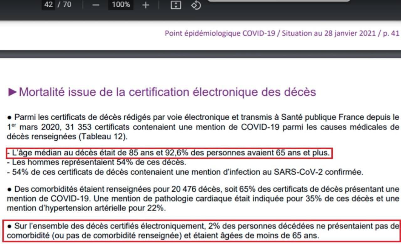 Santé Publique France et Covid-