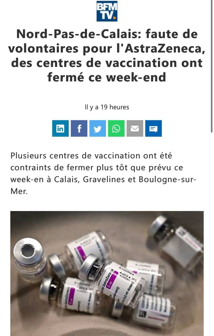 L'échec de l'Union européenne avec le vaccin Astrazeneca