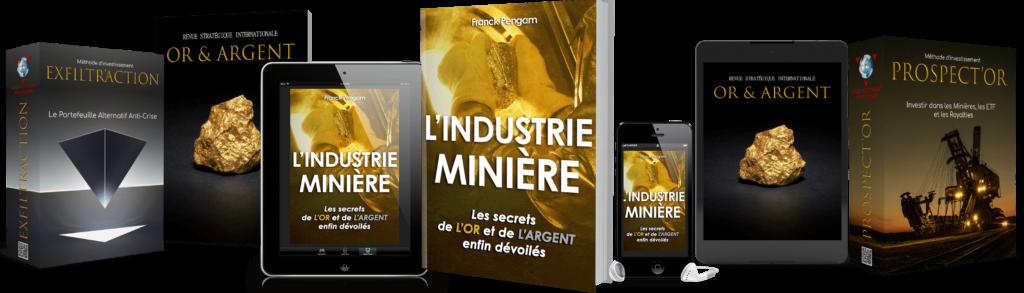L'industrie minière : investir dans la production d'or et d'argent