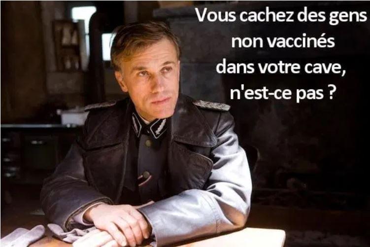 Non vacciné danger