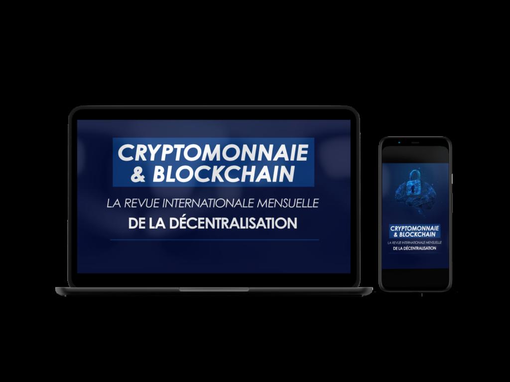 Cryptomonnaie et blockchain revue mensuelle