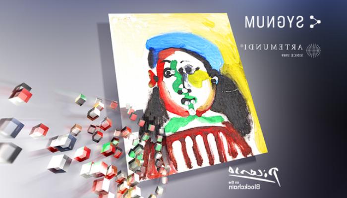 La fille au béret de Picasso en NFT tokénisée