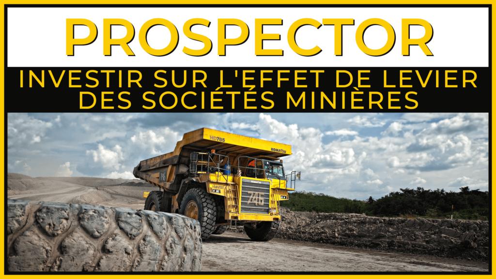 Investir dans les sociétés minières