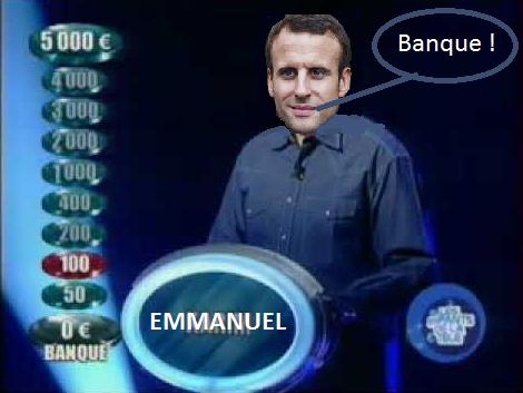 Macron banquier chez Rothshild